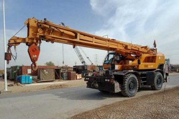 25 Ton Rough Terrain Crane rental