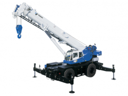60 Ton Rough Terrain Crane rental